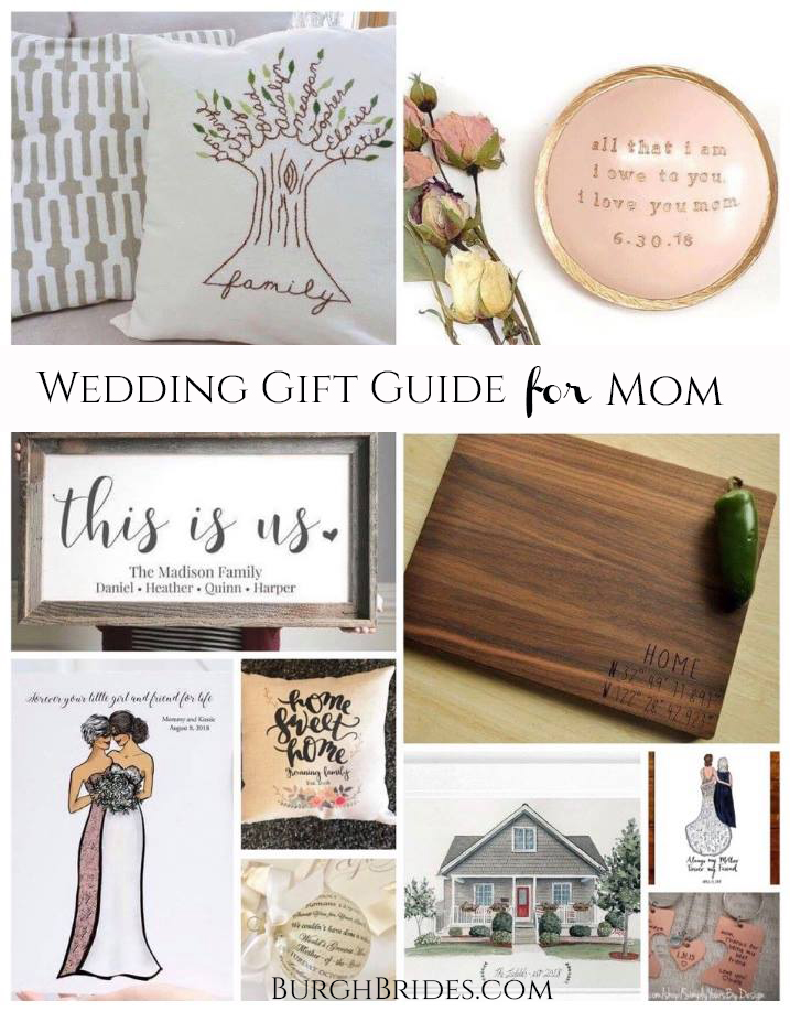 Gift Ideas for Any Mother of the Bride or Groom. For more wedding planning inspiration, visit burghbrides.com!