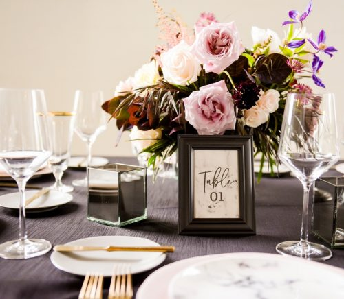 Dark & Dramatic Aspinwall Wedding with a Touch of Glam. For more wedding inspiration, visit burghbrides.com!