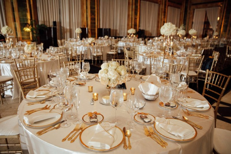 Timeless Black White & Gold Wedding at The Pennsylvanian