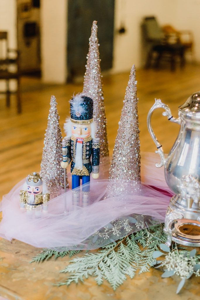 Fairy Tale Wedding Details Inspired by The Nutcracker. For more dream wedding ideas, visit burghbrides.com!