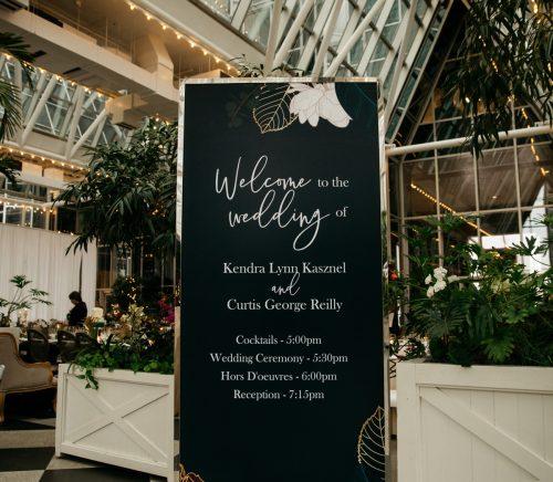 Strikingly Unique Wedding at PPG Wintergarden. Find more wedding ideas at burghbrides.com!