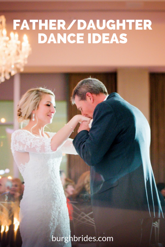 45 Father/Daughter Dance Ideas. For more wedding traditions, visit burghbrides.com!