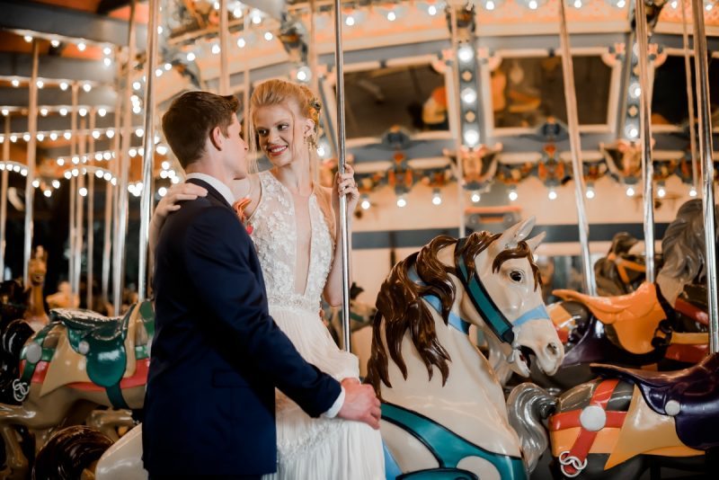 Colorful Carnival Wedding Inspired Styled Shoot. For more fun wedding ideas, visit burghbrides.com!